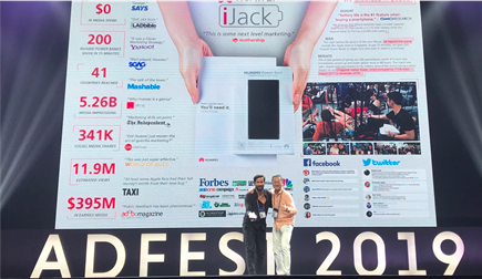 dentsu X Singapore win Silver in Best Use of Guerrilla Marketing at AdFest 2019